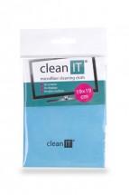 Čistící utěrka z mikrovlákna CLEAN IT CL710, malá, modrá