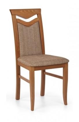 Citrone - Jídelní židle, buk (třešeň antik/potah světle hnědá)