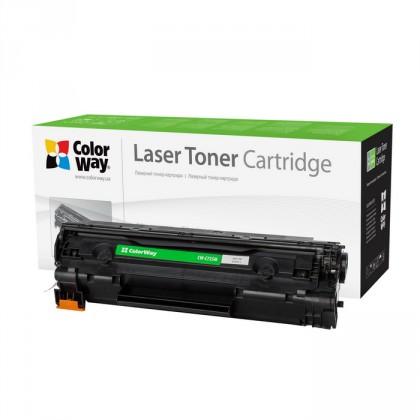 ColorWay kompatibilní toner pro HP CE285A/ černý / 1600 stran