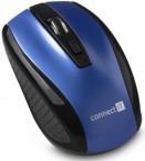 Connect IT bezdrátová optická myš, modrá (CI-1225)