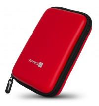 """Connect IT CFF5000RD Pevné ochranné pouzdro na 2,5"""" HDD, červené"""