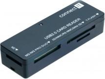 Connect IT čtečka paměťových karet CI56, ultra slim