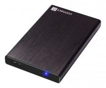 """CONNECT IT externí box LITE pro HDD 2,5"""" SATA, USB 3.0 černý ROZB"""
