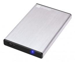 "CONNECT IT externí box LITE pro HDD 2,5"" SATA, USB 3.0 stříbrný"