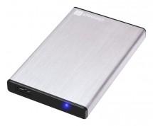 "CONNECT IT externí box LITE pro HDD 2,5"" SATA, USB 3.0 stříbrný P"