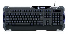 Connect IT GK5500 Sniper Keyboard USB CZ, černá