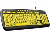 Connect IT klávesnice CI44 kontrastní