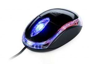 CONNECT IT optická myš podsvícená USB, černá