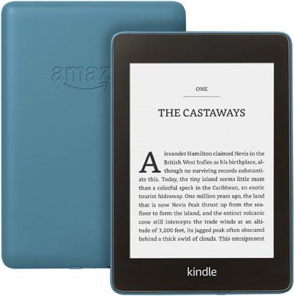 Čtečka Amazon KINDLE PAPERWHITE 4 2018, modrá, verze s reklamou