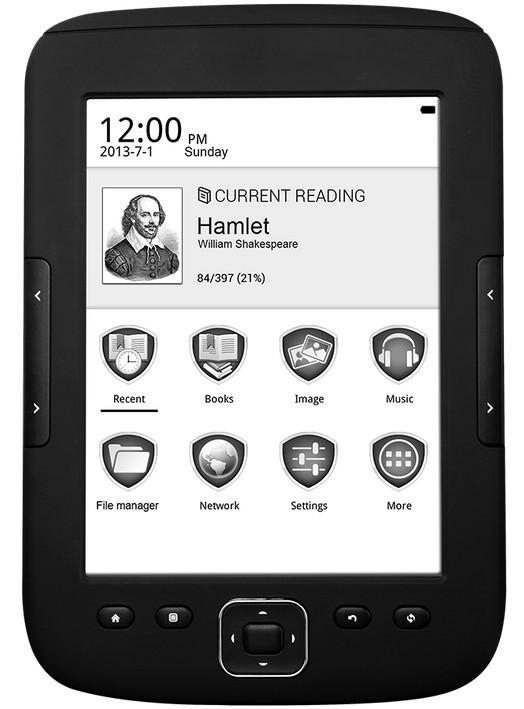 Čtečka elektronických knih Prestigio MultiReader Supreme 5664