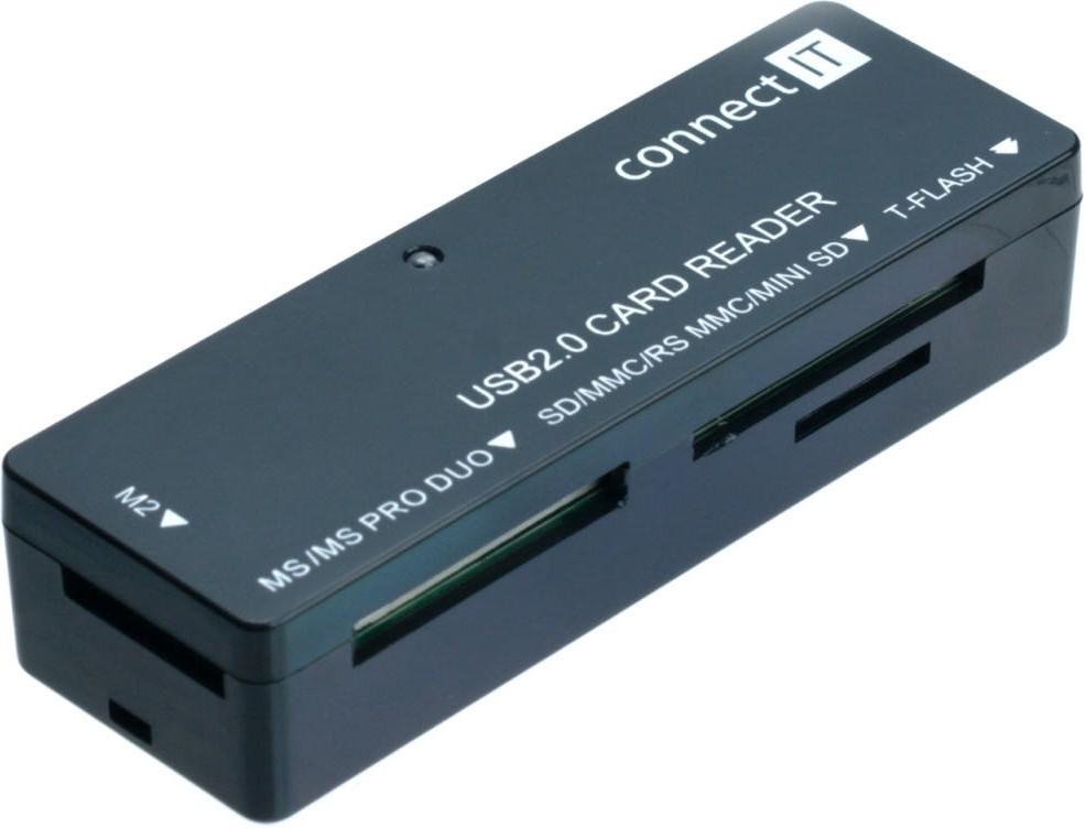 Čtečka karet Connect IT čtečka paměťových karet CI56, ultra slim