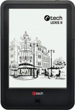 Čtečka knih C-TECH Lexis II (EBR-62), dotyková obrazovka, černá