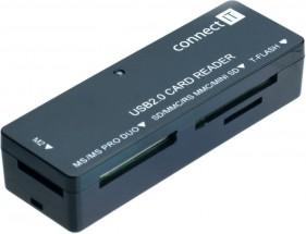 Čtečka paměťových karet Connect IT CI-56