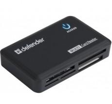 Čtečka paměťových karet Defender Optimus USB 2.0 (83501)