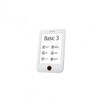 Čtečky knih E-book POCKETBOOK 614+ Basic 3 White