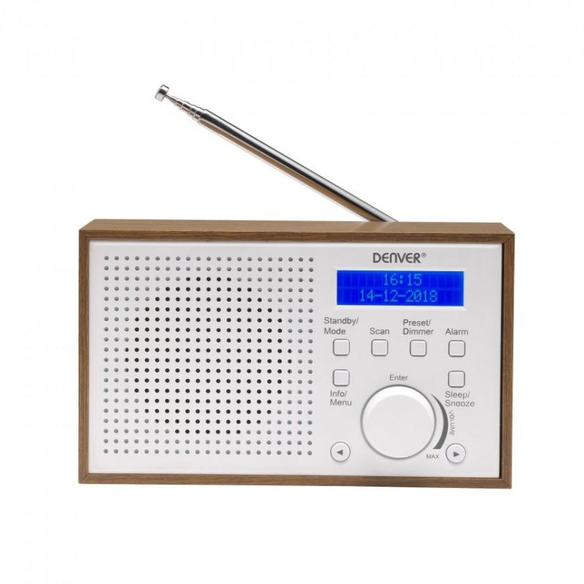 DAB rádia Digitální rádio Denver