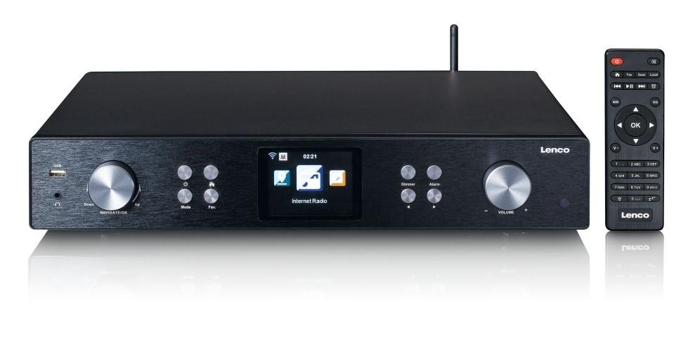 DAB rádia Internetové rádio Lenco DIR-250, černé
