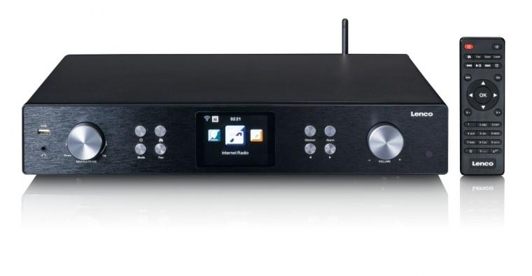 DAB rádia Internetové rádio Lenco DIR-250BK