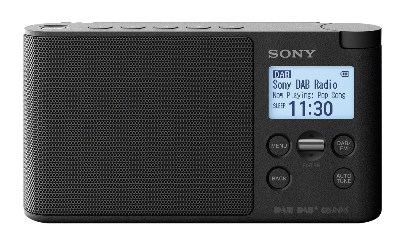 DAB rádia Přenosné DAB rádio SONY XDR-S41DB
