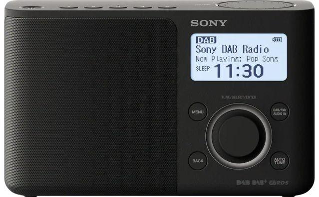 DAB rádia Přenosné DAB rádio SONY XDR-S61DB