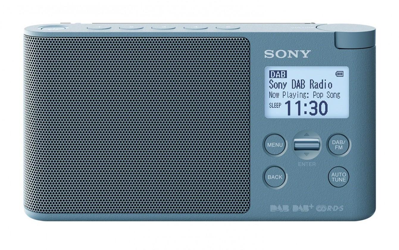 DAB rádia Přenosné DAB rádio SONY XDRS-41DL