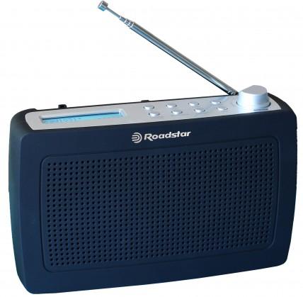 DAB rádia Rádio Roadstar TRA-886D+, černé
