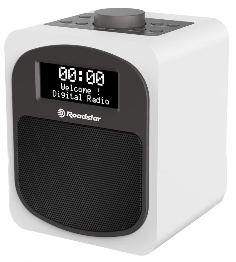 DAB rádia Retro rádio Roadstar HRA-600D, bílé