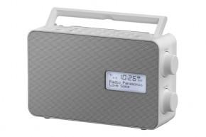 DAB+ rádio Panasonic RF-D30BTEG-W, bílé