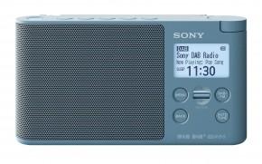 DAB+ rádio Sony XDRS-41DL, modré