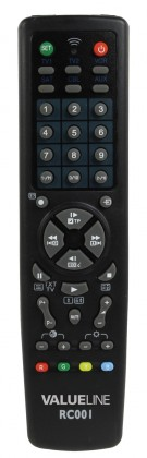 Dálkový ovladač BasicXL - Dálkový ovladač univerzání 10 v 1 - BXL-RC001