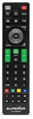 Dálkový ovladač Dálkový ovladač pro značku TV Panasonic Superior RCPANASONIC