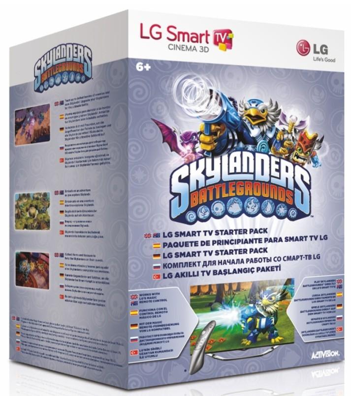 Dálkový ovladač LG-SKYLANDERS