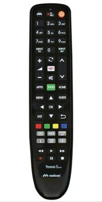 Dálkový ovladač Panasonic Meliconi 806068, gumbody