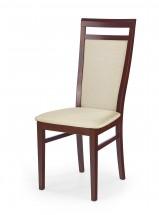 Damian - Jídelní židle (béžová, třešeň)