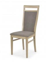 Damian - Jídelní židle (světle hnědá, dub sonoma)