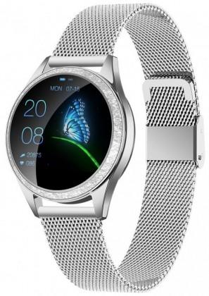 Dámské chytré hodinky Armodd Candywatch Crystal, stříbrná POUŽITÉ