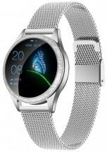Dámské chytré hodinky Armodd Candywatch Crystal, stříbrná