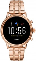 Dámské chytré hodinky Fossil Julianna, růžová/ocelový řemínek