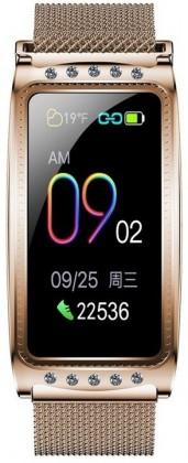 Dámské chytré hodinky Immax Crystal Fit, zlatá