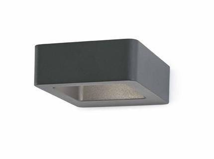 DAS - Nástěnné svítidlo (šedá)