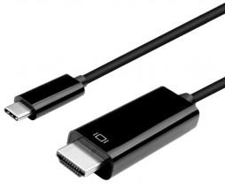 Datový kabel Winner USB-C/HDMI, 3m, černá