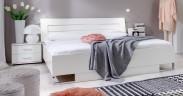 Davos - Komplet 5, postel 140 cm (alpská bílá)