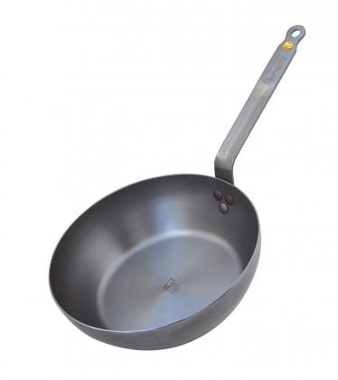 de Buyer Hluboká ocelová pánev Mineral B Element 32cm