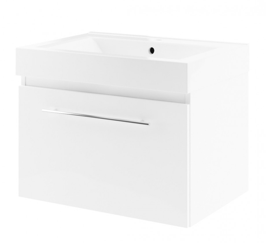 Decora - Skříňka s umyvadlem 70cm (bílá)