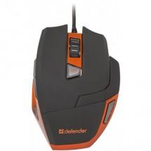 Defender Warhead GM-1500, černá-oranžová