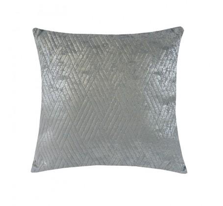 Dekorační polštáře Polštář DP152 (45x45 cm, světle šedá, stříbrná)