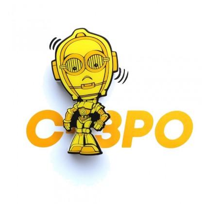 Dekorativní osvětlení 3D LIGHT FX světlo 3D Mini EP7 - C-3PO