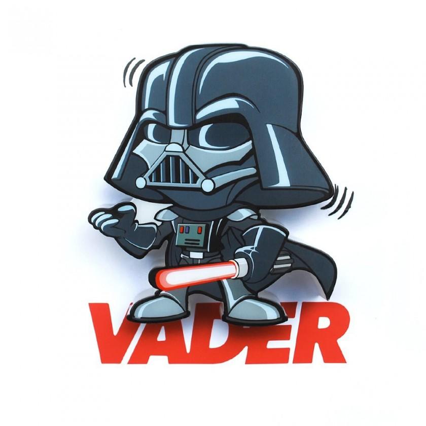 Dekorativní osvětlení 3D LIGHT FX světlo 3D Mini EP7 - Darth Vader