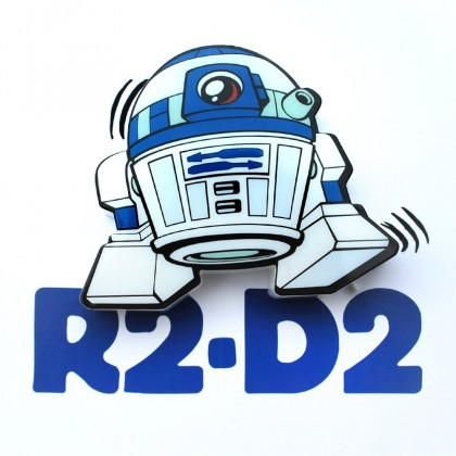 Dekorativní osvětlení 3D LIGHT FX světlo 3D Mini EP7 - R2-D2