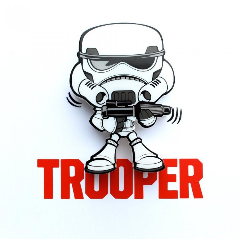 Dekorativní osvětlení 3D LIGHT FX světlo 3D Mini EP7 - Storm Trooper